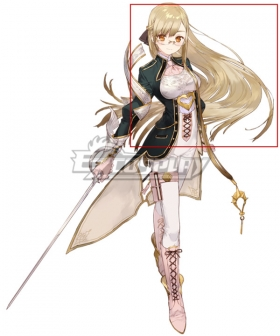 Atelier Sophie: The Alchemist of the Mysterious Book Monika Ellmenreich Golden Cosplay Wig