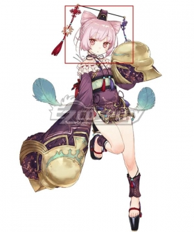 Atelier Sophie: The Alchemist of the Mysterious Book Corneria Pink Cosplay Wig