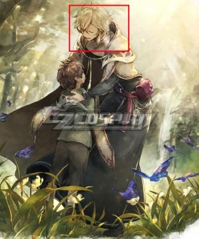 Octopath Traveler Conquerors Of The Continent Millard Golden Cosplay Wig