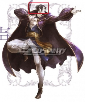 Octopath Traveler Conquerors Of The Continent Arguste Purple Cosplay Wig