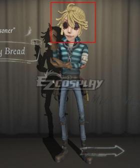 Identity V Prisoner Luca Balsa Moldy Bread Golden Halloween Cosplay Wig
