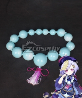 Genshin Impact Qiqi Necklace Cosplay Accessory Prop