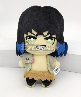Demon Slayer: Kimetsu No Yaiba Inosuke Hashibira Plush Doll Cosplay Accessory Prop