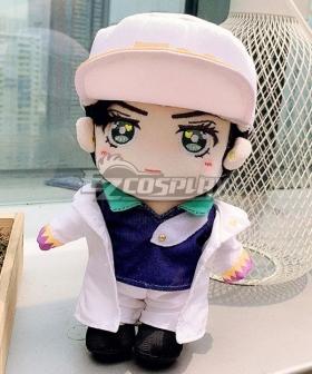 JoJo's Bizarre Adventure Kujo Jotaro Plush Doll Cosplay Accessory Prop