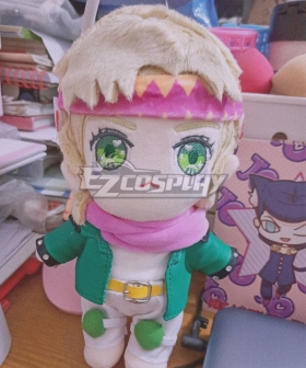 JoJo's Bizarre Adventure Caesar Anthonio Zeppeli Plush Doll Cosplay Accessory Prop