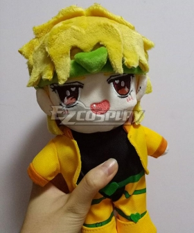 JoJo's Bizarre Adventure Dio Brando Plush Doll Cosplay Accessory Prop