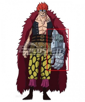 One Piece Eustass Kid Arm Cosplay Accessory Prop
