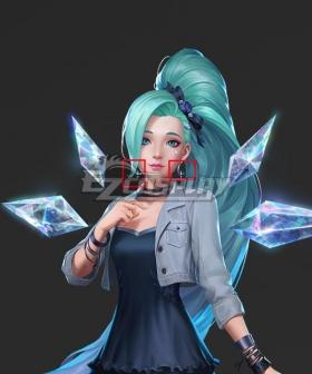 League Of Legends LOL 2020 KDA K/DA Seraphine Earring Cosplay Accessory Prop