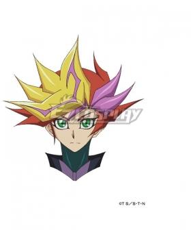 Yu-Gi-Oh! Vrains Playmaker Yusaku Fujiki Golden Red Cosplay Wig