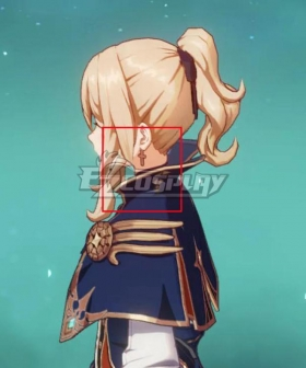 Genshin Impact Jean Earring Cosplay Accessory Propg