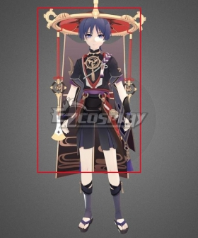 Genshin Impact Scaramouche Hat Cosplay Accessory Prop