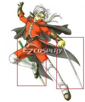 Dragon Quest VIII Angelo Cosplay Weapon Prop