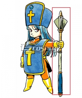 Dragon Quest III Priest Female Cosplay Weapon Prop