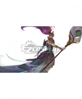 League of Legends LOL Battle Queen Janna Cosplay Costume