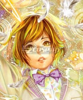 Platinum End Hanakago Saki Brown Cosplay Wig