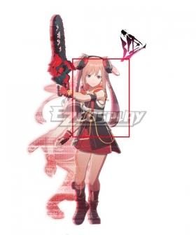 Scarlet Nexus Arashi Spring Pink   Cosplay Wig