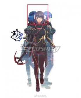Scarlet Nexus Kyoka Eden Blue   Cosplay Wig