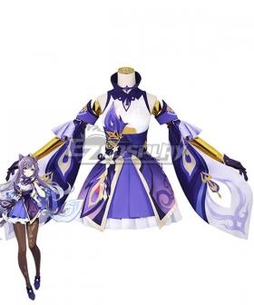 Genshin Impact Keqing Cosplay Costume B Edition