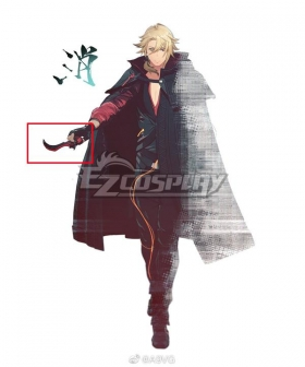 Scarlet Nexus Kagero Donne Cosplay Weapon Prop