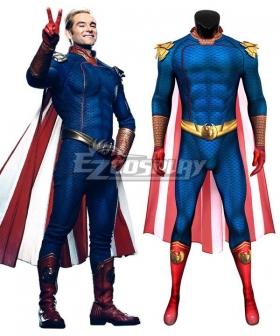 The Boys Homelander Zentai Jumpsuit Cosplay Costume