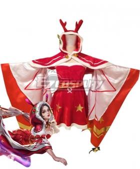 King Glory Honor of Kings Diao Chan Christmas Cosplay Costume