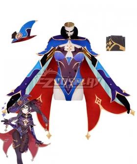 Genshin Impact Mona Cosplay Costume B Edition