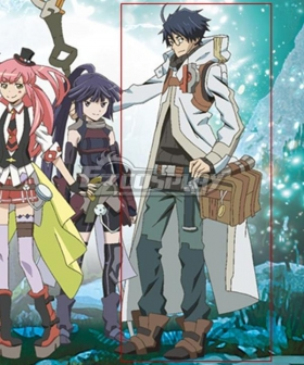Log Horizon Season 3 Shiroe Cosplay Costume