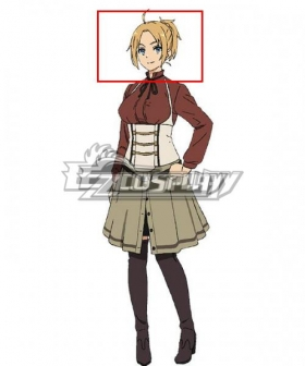 Mushoku Tensei: Jobless Reincarnation Zenith Greyrat Golden Cosplay Wig