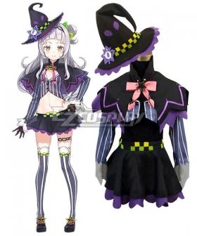 Hololive Youtuber Vtuber Murasaki Shion Cosplay Costume