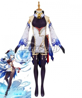 Genshin Impact Ganyu Cosplay Costume - B Edition