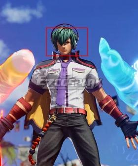 The King Of Fighters XV KOF Shun'ei Green Cosplay Wig