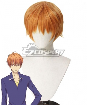 Fruits Basket Kyo Soma Orange Cosplay Wig