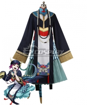 Disney Twisted Wonderland Lilia Vanrouge Halloween Scary Outfit Cosplay Costume