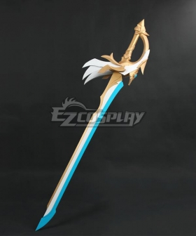 Genshin Impact Aquila Favonia Breakthrough Cosplay Weapon Prop
