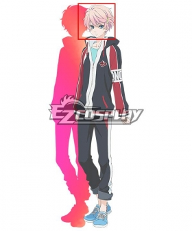 Skate Leading ☆ Stars Akimitsu Mochizuki Pink Cosplay Wig