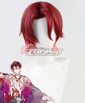 Onmyoji Kidoumaru Red Cosplay Wig