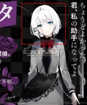 The detective is already dead Siesta Silver Cosplay Wig