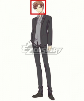 Fruits Basket The Final Kureno Soma Brown Cosplay Wig