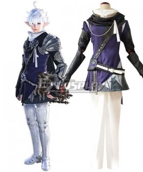 Final Fantasy XIV FF14 Alphinaud Leveilleur Cosplay Costume - C Edition