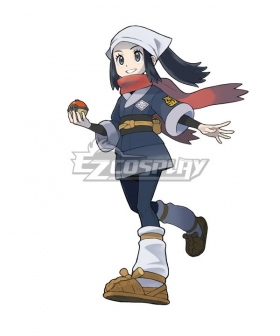 Pokemon Pokémon Legends: Arceus Female protagonist Cosplay Costume