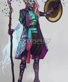 Critical Role Caduceus Clay LV10 Cosplay Costume