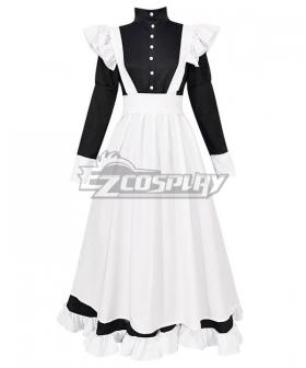 Lolita Maid Dress Cosplay Costume - EMDS004Y
