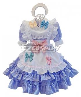 Lolita Maid Dress Cosplay Costume - EMDS007Y