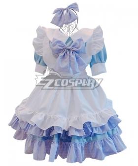 Lolita Maid Dress Cosplay Costume - EMDS008Y