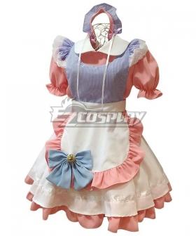 Pink Maid Dress Cosplay Costume - EMDS018Y