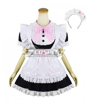 Lolita Maid Dress Cosplay Costume -EMDS019Y