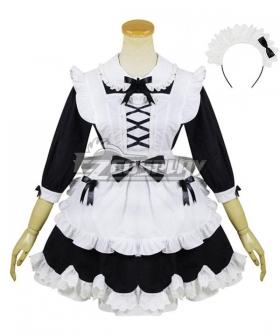 Lolita Maid Dress Cosplay Costume -EMDS020Y