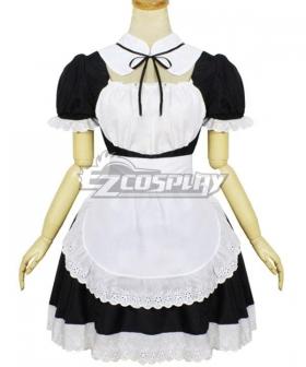 Lolita Maid Dress Cosplay Costume - EMDS022Y