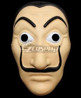 Money Heist Halloween Dali Mask Cosplay Accessory Prop