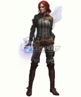 The Witcher 2 Triss Merigold Cosplay Costume